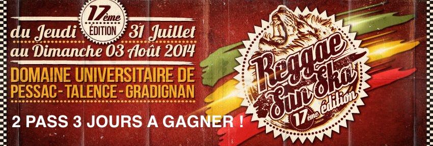 jeu concours Reggae Sun Ska