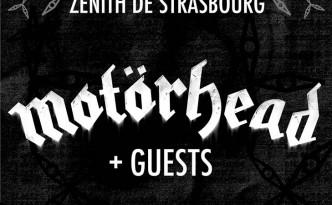Motörhead à Strasbourg en 2016